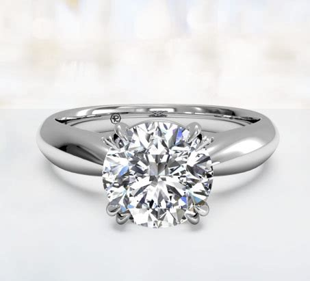 Solitaire Engagement Ring by Solitaire Engagement Rings Ritani