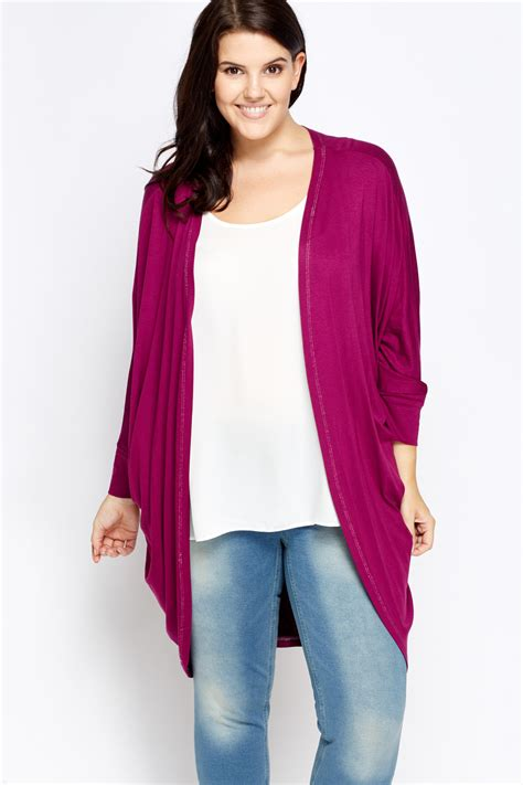 batwing sleeve open front cardigan just 163 5