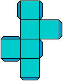 How To Make A 3 Dimensional Cube Out Of Paper - what is the difference between 2d and 3d year 9 a
