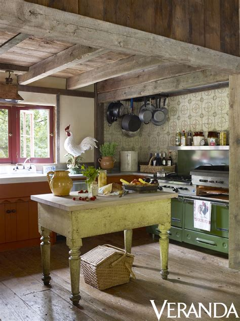 Country Vintage Kitchen pin by veranda magazine on kitchens in veranda