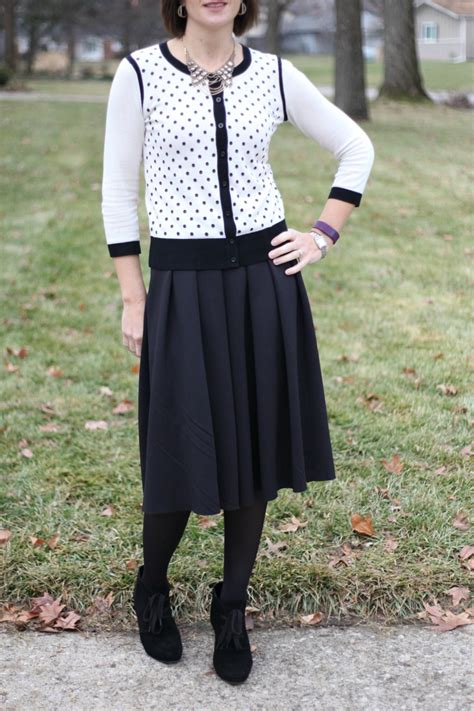 that chic how to style a midi skirt in winter