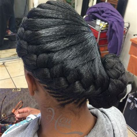 braided to the scalp in a bun style 342 best images about beauty on pinterest asos tree