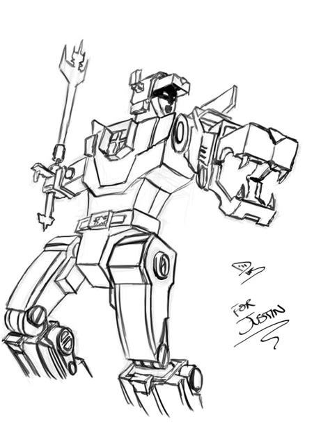 free voltron pictures coloring pages