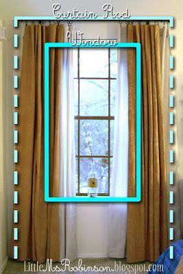 hang  curtains   windows  taller