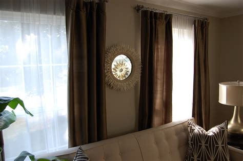 curtains for brown walls grant beige contemporary living room benjamin moore