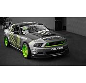 Green Cars Ford Mustang Selective Coloring Monster Energy