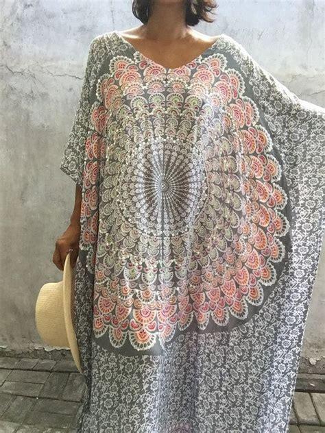 Kaftan Maxy 004 robe maxi caftan pluse femmes taille robe de plage par