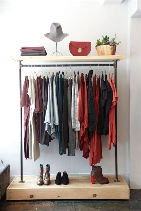Open Closet Boutique by 21 Really Inspiring Makeshift Closet Designs For Small Spaces