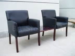 The Rug Market America Reception Waiting Room Chair In Black Finish Office