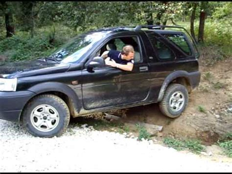 land rover freelander off road land rover freelander off road parte 1 youtube