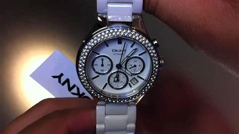 Women's DKNY Ceramic Chronograph Watch NY4985   YouTube