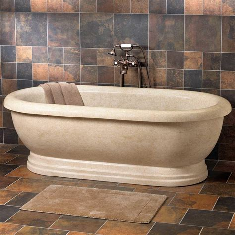 natural stone bathtubs natural stone tubs stone bathtubs signature hardware
