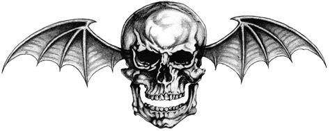 avenged sevenfold logo quot deathbat quot tattoo by lightsinaugust