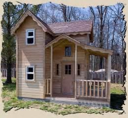 cottage playhouse plans mini country cottage