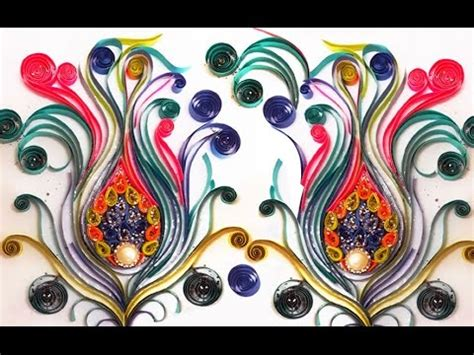 Quilling Home Decor diy room decor with quilling art amazing home decor with