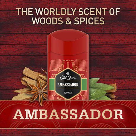 Parfum Ambassador d 233 sodorisant pour hommes spice collection parfum