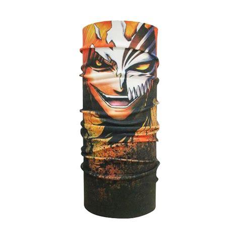 Ck Bandana Buff Multifungsi Pramuka jual ck bandana 1608003 buff masker multifungsi motif ichigo kurosaki harga