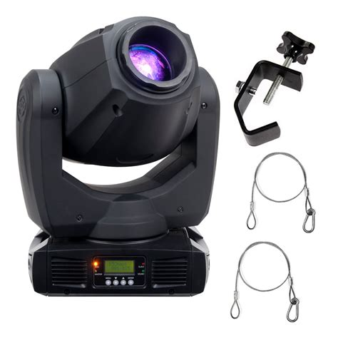 Moving Light Fixtures American Dj Inno Spot Pro 80w Led Moving Fixture With 2 Truss Cls And Safety Harness