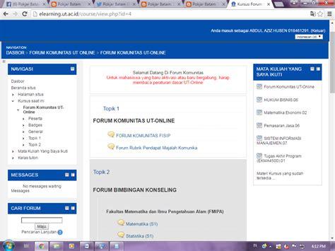 panduan tutorial online ut yuk simak 10 langkah aktivasi tutorial online pokjar