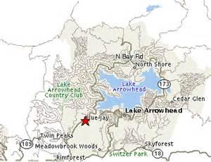 lake arrowhead maps directions shopping