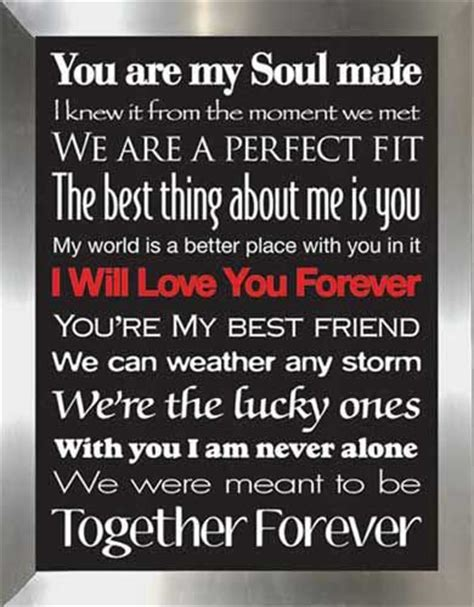 i love my soul mate quotes and pic you are my soul mate i knew it from the moment we met we