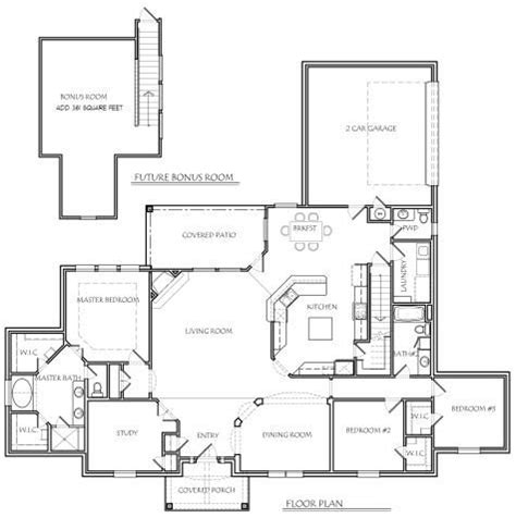 1000 Ideas About Texas House Plans On Pinterest House Ranch House Plans With Formal Living Room