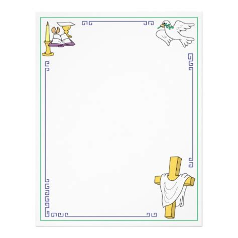 christian church letterhead template zazzle