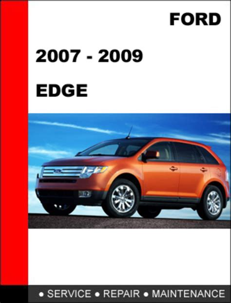 service manual free download of a 2009 ford edge service manual ford edge service repair