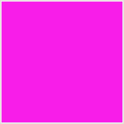 fuschia color hex fa1eeb hex color rgb 250 30 235 deep pink fuchsia