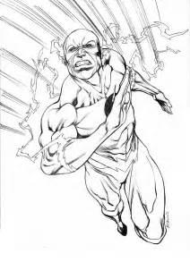 205 33 Kb Flash Superhero Coloring Pages Az sketch template