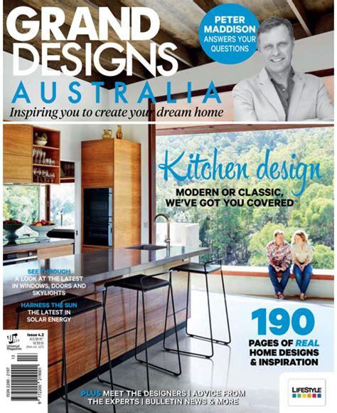 design magazine australia grand designs australia magazine issue 4 2
