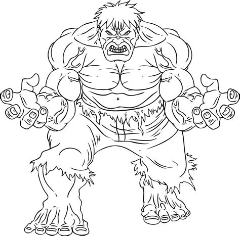 dibujos para pintar hulk desenho de hulk marvel para colorir tudodesenhos