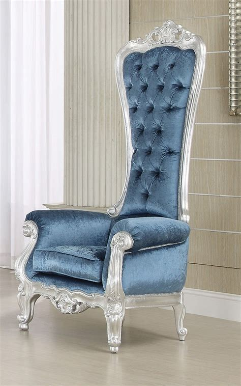 french style victorian extreme high  royal throne