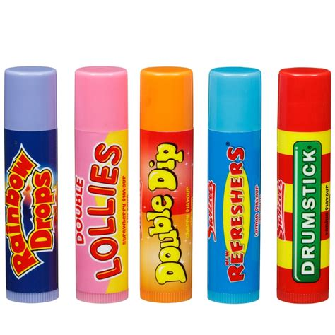 Treats Lipbalm b m swizzels sweet treats lip balm collection 249667 b m