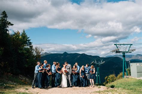 new hshire wedding resorts lincoln nh the mountain loon mountain top wedding new hshire 187 todd wilson