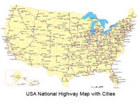 map of united states with cities and highways us map with cities and highways www proteckmachinery
