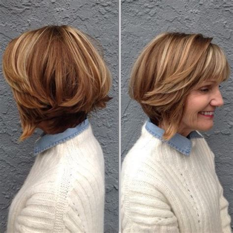 highlights hair over 50 80 respectable yet modern hairstyles for women over 50