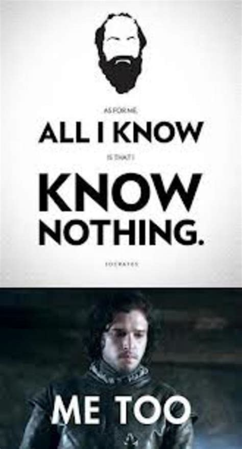 You Know Nothing Jon Snow Meme - image 527481 you know nothing jon snow know your meme