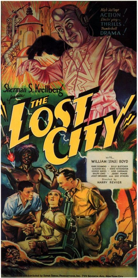 For The Ls Of China 1935 by Quot La Ciudad Infernal Quot Quot The Lost City Quot 1935 12 Episodios Independiente Dir Harry Revier