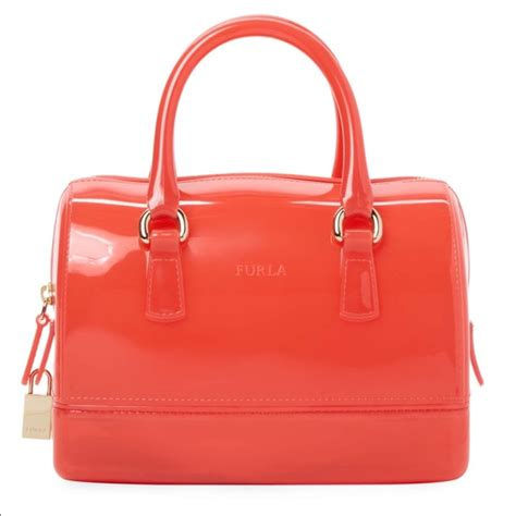 Orange Jelly Bag 27 furla bags jelly bag poshmark
