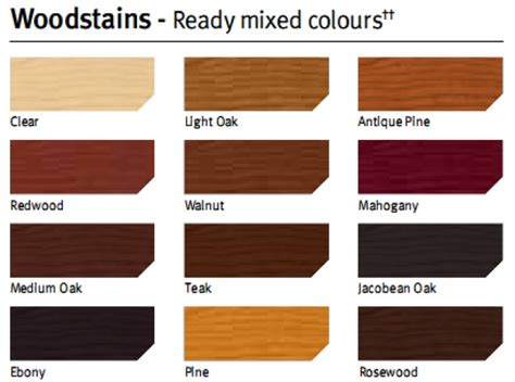 satin woodstain color systems