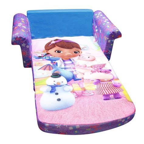 doc mcstuffins flip open sofa spin master marshmallow furniture flip open sofa doc