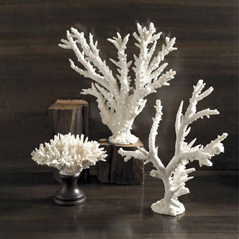white coral home decor white coral sculpture sea shells and shell figurines