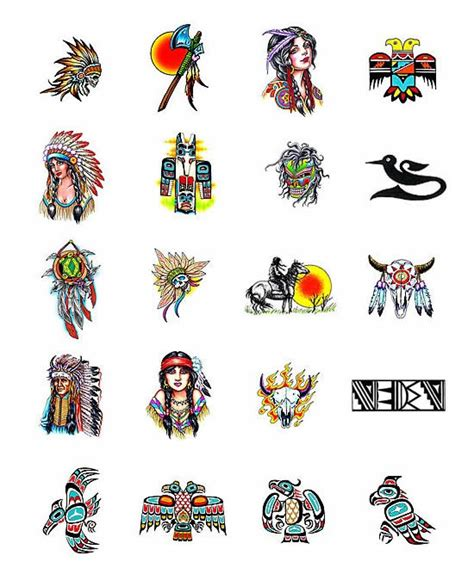 american indian tattoo designs meanings american tattoos what do they tattoos