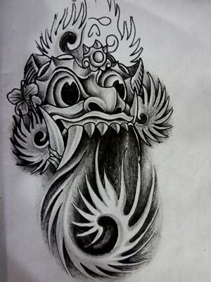 Airbrush Tattoo In Bali | 9 most popular barong tattoo designs