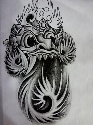 airbrush tattoo bandung 9 most popular barong tattoo designs