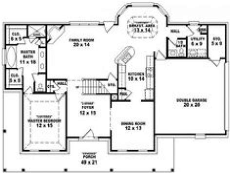 4 bedroom country house plans 4 bedroom 3 bath house plans 4 bedroom 3 bath single story