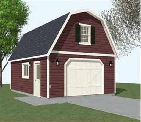 colonial style garages 16 x20 barn garage plans