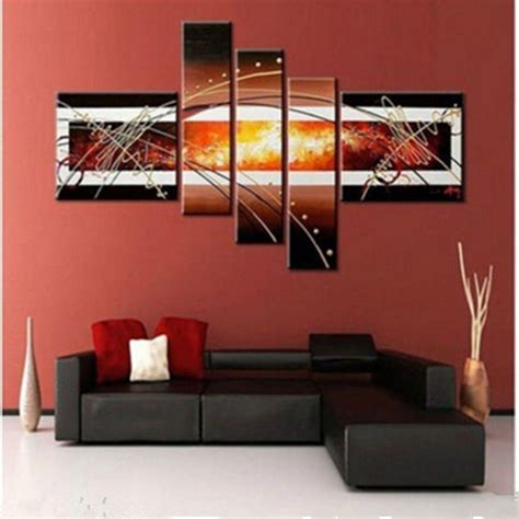 modern framed wall lots modern abstract canvas wall decor painting no