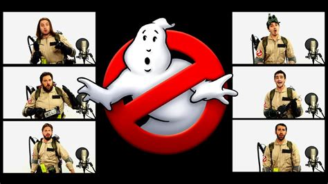 theme song ghostbusters ghostbusters theme song acapella ft chad neidt youtube